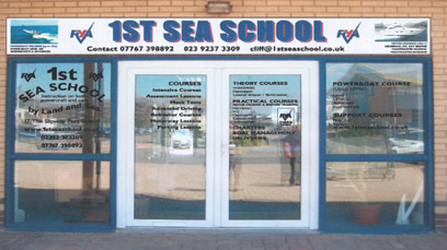 1st Sea School office