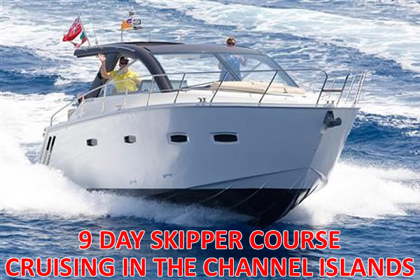 9 DAY, DAY SKIPPER COURSE ON OUR 35ft SEALINE